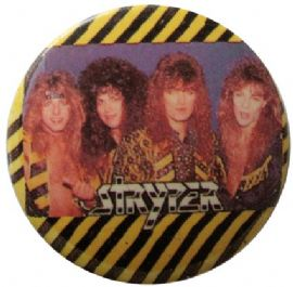 Stryper - 'Group Stripes' Button Badge